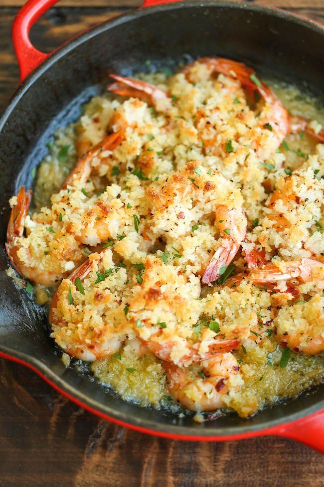 Baked Shrimp Scampi | Recipe | Baked shrimp scampi ...