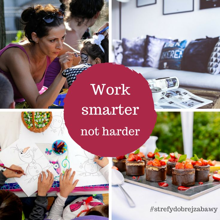 Jak pracować z głową i niepotrzebnie nie komplikować sobie życia? Przejrzyj tricki przydatne nie tylko organizatorom imprez!  #organizacja #planowanie #ułatwienia #strefydobrejzabawy