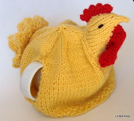 Chicken Tea Cosy Knitting Pattern Free : 445 best images about Tea Cozy on Pinterest Free pattern, Crochet tea cosie...