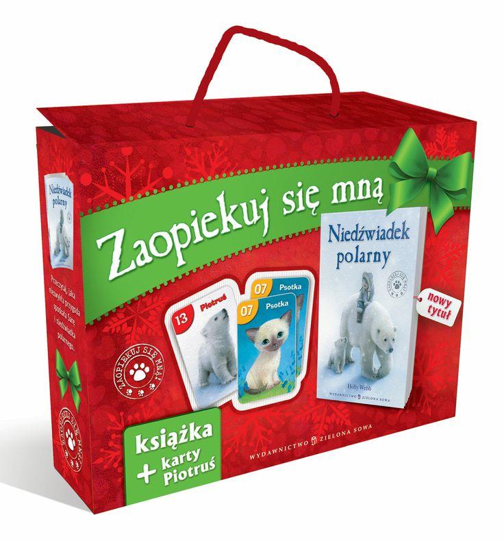 Zestaw książka plus gra - Zaopiekuj się mną oraz gra Piotruś z bohaterami naszych książek!  Więcej na www.zielonasowa.pl