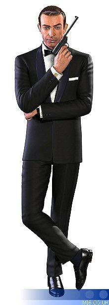 Bond, James Bond  <3 the Bond look