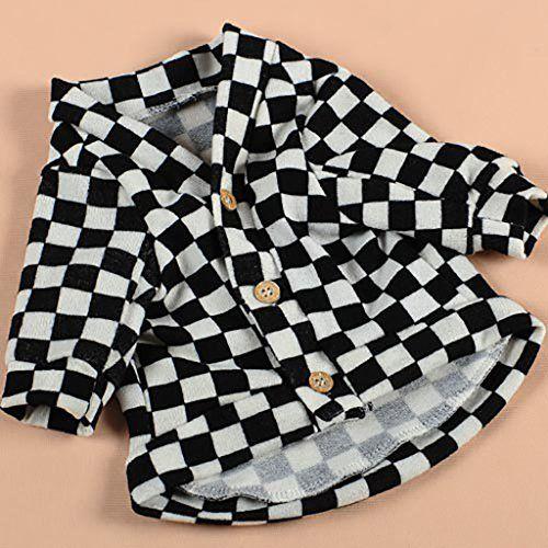 Aus der Kategorie Verkleidungen & Kostüme  gibt es, zum Preis von EUR 26,91  <p>Messen Sie die Länge des Tieres vor dem Kauf</p><p>Haustier-Kleidung Stile: Baumwolle</p><p>Haustier-Kleidung Art: Beiläufig</p><p>Durable & atmungsaktive Material, machen Sie Ihren Welpen bequemer.</p><p>Anwendbar Haustiere: Hund, Katze</p><p>Waschende Methode: Handwäsche</p><p>Größe:</p><p>S (Rückenlänge: 20 cm, Halsumfang: 23 cm, Brustumfang: 26-30 cm)</p><p>M (Rückenlänge: 25 cm, Halsumfang: 26 cm…