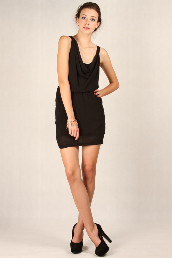Ebony Dress Black www.pinkemma.com
