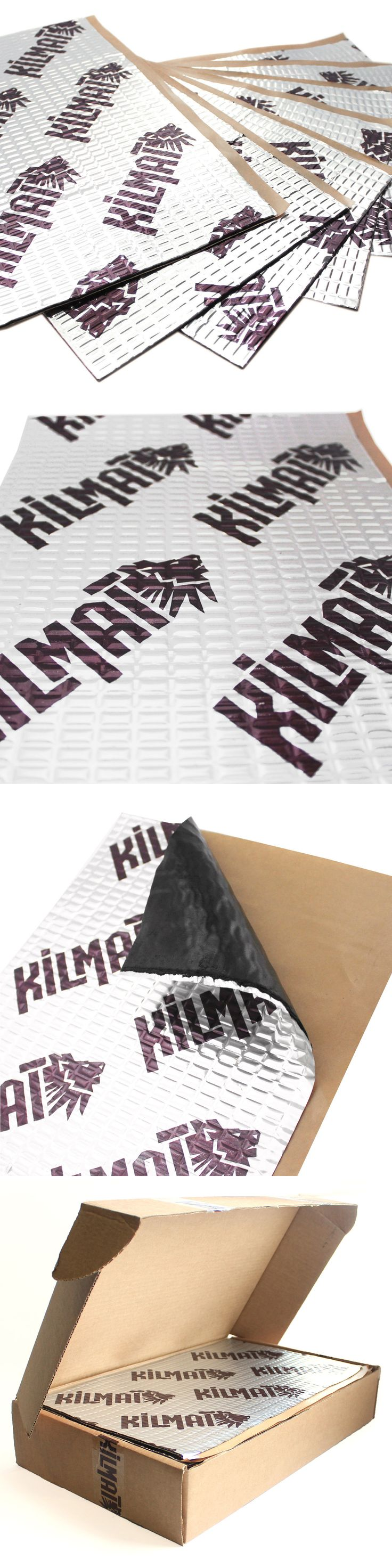 Other Car A V Installation: Kilmat 50 Mil 50 Sqft Car Sound Deadening Mat Deadener And Insulation Material -> BUY IT NOW ONLY: $62.4 on eBay!
