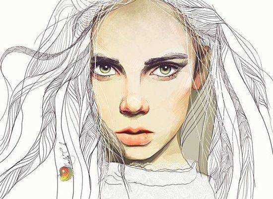 Illustrations by yourPorcelainDoll | Inspiration Grid | Design Inspiration