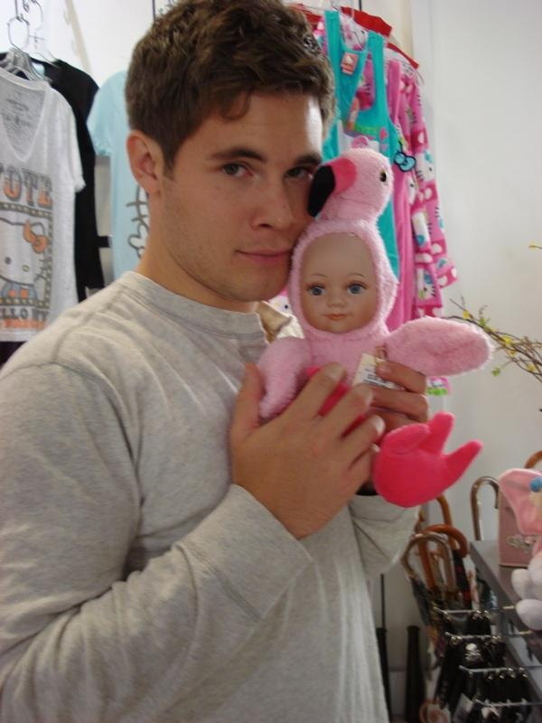Adam Devine being adorable and goofy. :)