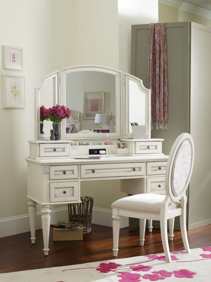Girls Bedroom Desks best 25+ vanity desk with mirror ideas only on pinterest | makeup