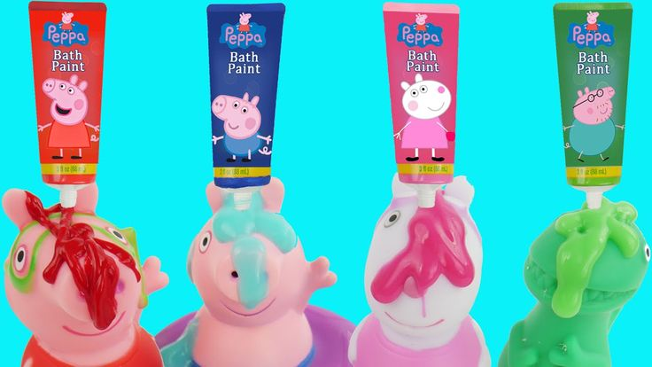 Also watch Shimmer and Shine Peppa Pig Bath Tub Time Finger Paint Soap & Learn Colors Orbeez Toy Surprises for Kids.  Peppa Pig Color Changing Peppa Pig Party Bathtime with Mermaid Elsa Bath Paint LEARN COLORS Surprises and bath paint crayon squeeze bottles.  Peppa Pig is also called: Cerdita Peppa Porca Peppa Porquinha Peppa 粉红猪小妹 ペッパピッグ pink Peppa Peppa Muc Peppa Malac Пепа Прасе пепа пигс Pepa la Porqueta Peppa Big.  Miss Pink Pig Praščić Pepa Prasátko Peppa Pipsa Possu Peppa Wutz Πέππα…