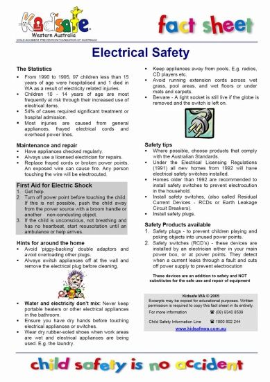 Electrical Safety Tips : Best safety first always images on pinterest