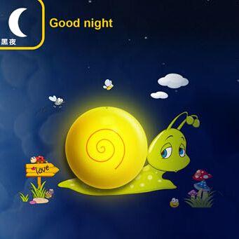 Ночные Эльфы Улитки Ночь Свет Лампы для Детей Подарок Ребенку игрушка Черепаха Подходит для Гостиной Спальня Детская Комната Бесплатная корабль