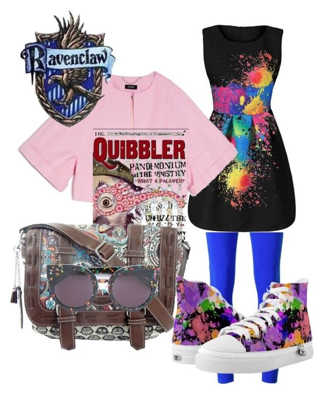 """Luna Lovegood inspired outfit"" by hogwartsinspired on Polyvore featuring No Ka'Oi, Max&Co., Luna, UNIONBAY and STELLA McCARTNEY"