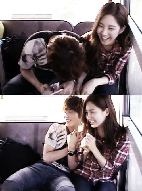 """Yonghwa and Seohyun ♡ #WGM // """"I don't wanna love, if it's not you."""""""