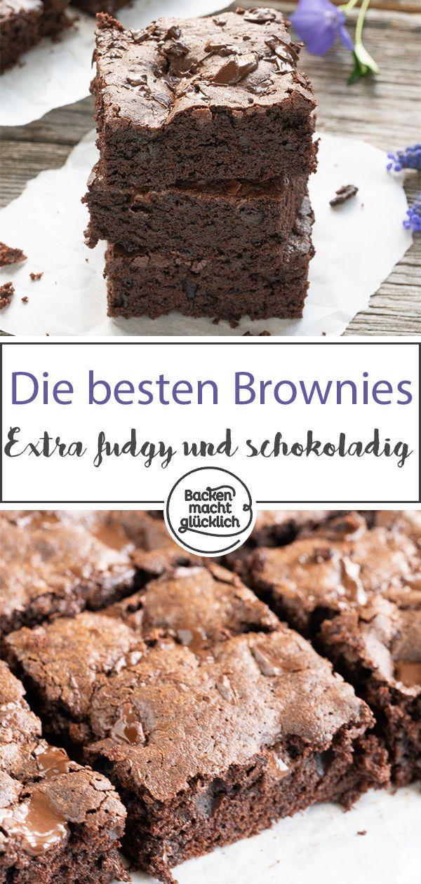 Dies sind die besten Brownies aller Zeiten! Im Ernst. In diesem einfachen Ultimat …   – Backen mit Schokolade Rezepte