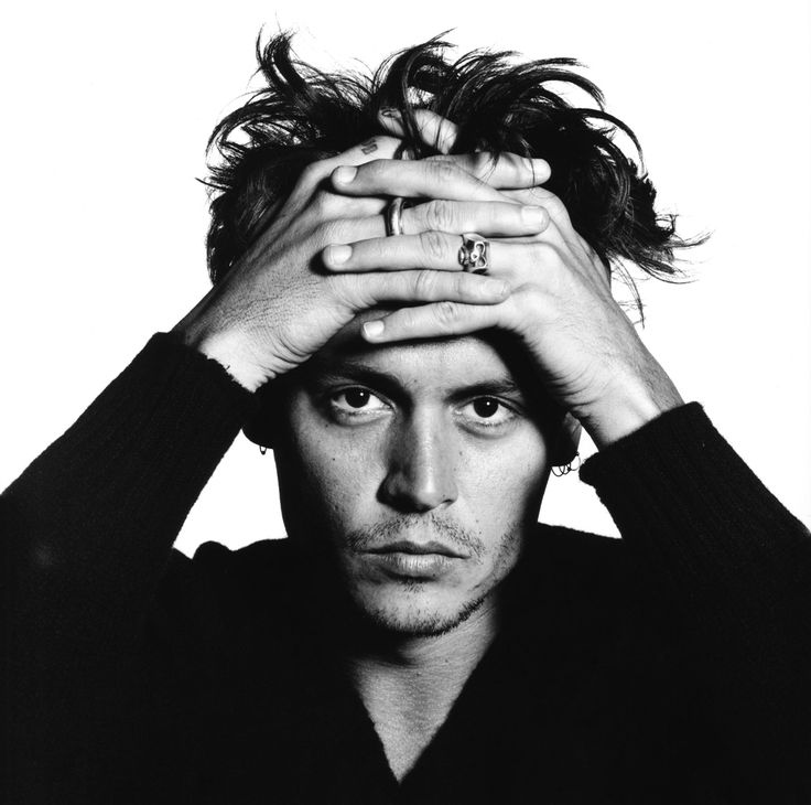 Johnny Depp (1963) - American actor, film producer, and musician. Photo © David Bailey