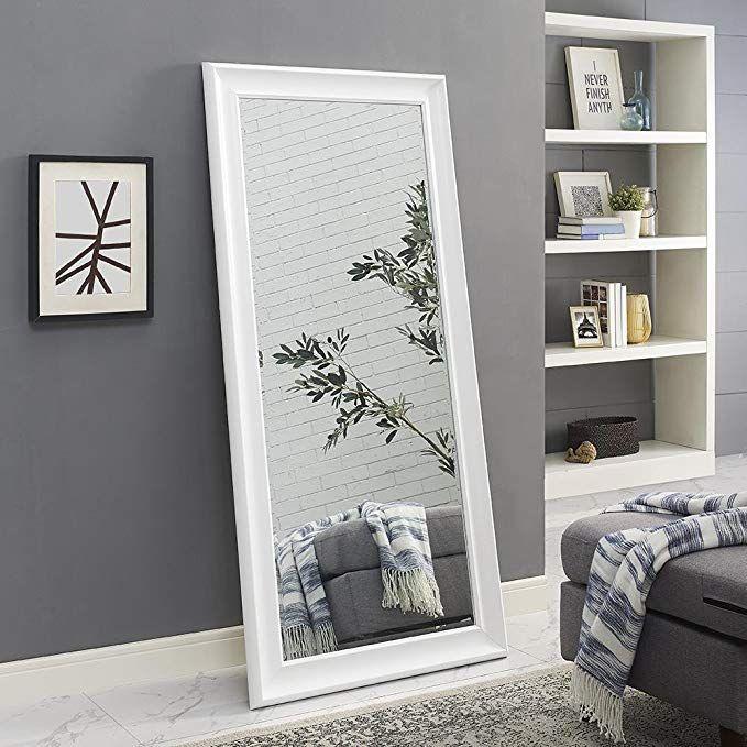 Naomi Home Framed Mirror White 65 X 31 Floor Mirror Home Decor Mirrors White Home Decor