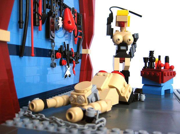 Legos gone bad ~ Whip it! Whip it good!