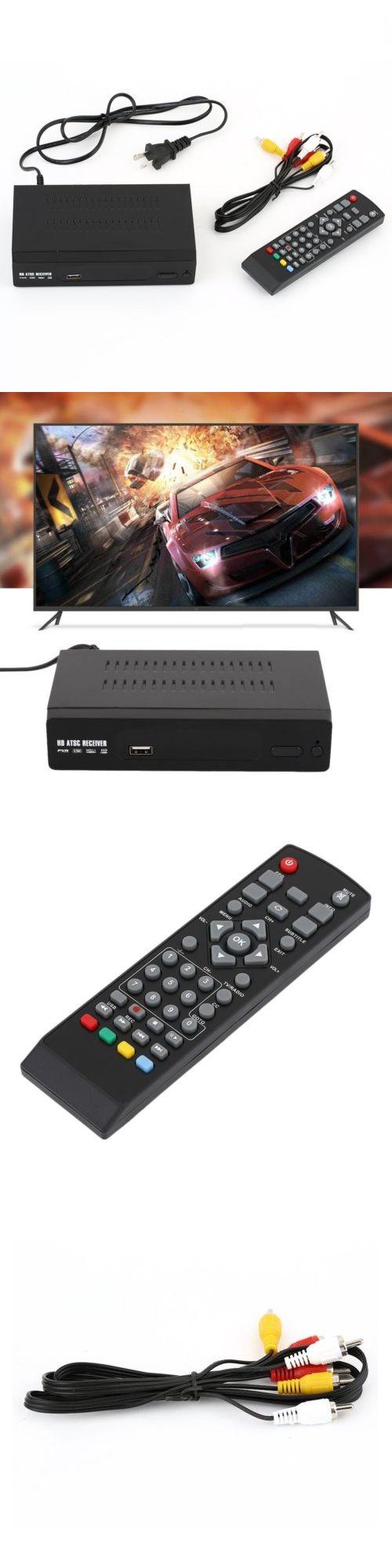 Home Audio: 1080P Atsc Digital Antenna Converter Vhf Local Tv Receiver Recording Box Lot Ba -> BUY IT NOW ONLY: $37.47 on eBay!