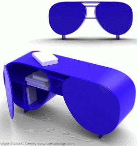 Aviator/ Eyewear Furniture  Samal Design