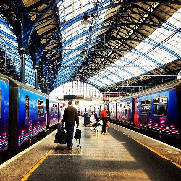 Brighton Railway Station (BTN) in Brighton, Brighton and Hove