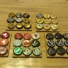 Aside from burning fingers, it's a good way to reuse saved bottle caps. #visualbookmarking