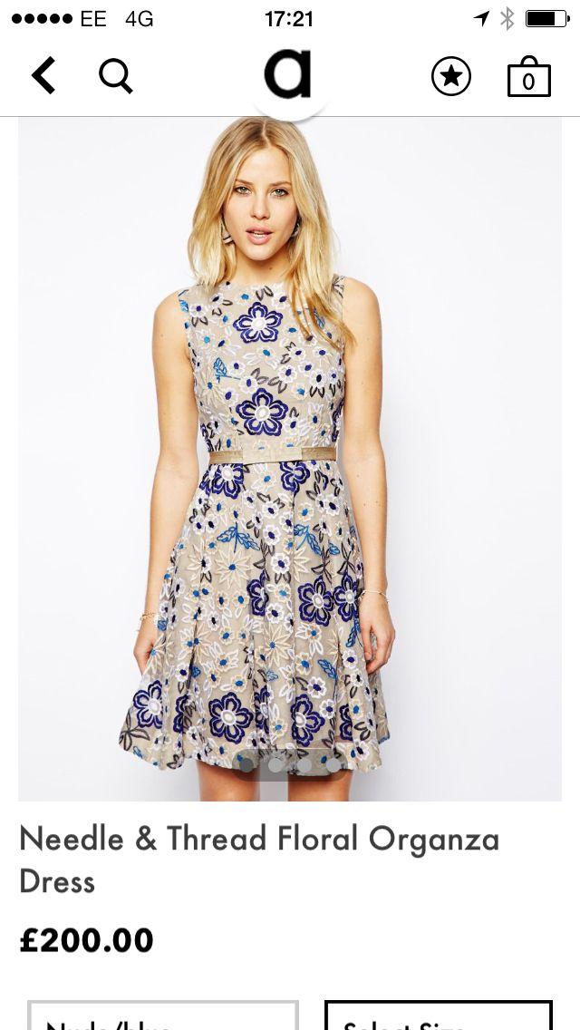 Needle and thread dress £200