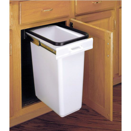 Keep unpleasant odors from your garbage sealed inside the waste bin with Rev-A-Shelf EZ-300 series. the EZ-300 series is a one-of-kind waste management system that features a replacable deordorizer bar and a vinyl gasket fitting that seals the container to eliminate offensive aromas.