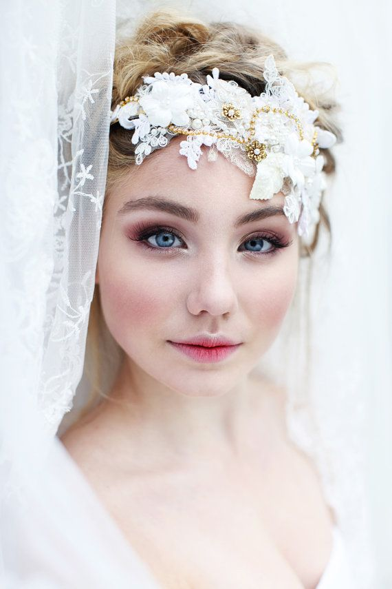 My Emmelie of the forest headpiece  Romantic by SoBridelicious, $120.00