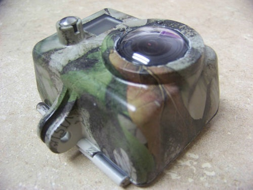Custom Camoflauge GoPro Housing Case Hydro-Dipped With Flat Finish - $50.00