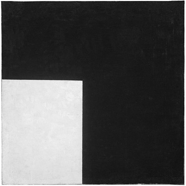 Suprematist Composition, Black and White, Kazimir Malevich, 1915.