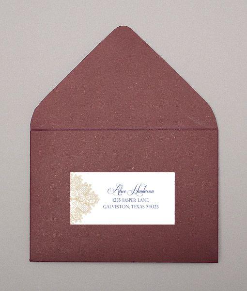 17 Best ideas about Wedding Address Labels on Pinterest | Address ...