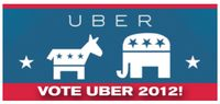 Uber gives free ride to voters But there are a few catches to the offer. Passengers have to be first-time users of the car-service app, and they have to be going to or from polling stations. And fares have to be less than $20.12.