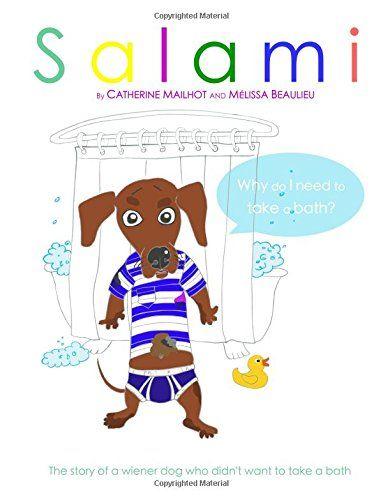 """Salami: """"Why Do I Need to Take a Bath?"""" by Catherine Mailhot http://www.amazon.ca/dp/1518854486/ref=cm_sw_r_pi_dp_9xJzwb072AYPJ"""