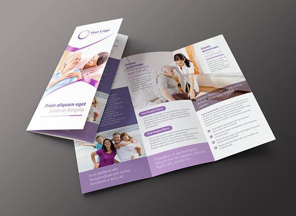 Family Services Brochure Template by Vecto Designs on @creativemarket