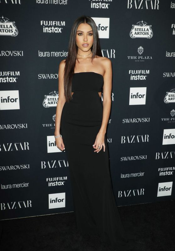 Madison Beer attending Harper's BAZAAR Icons Party in NYC