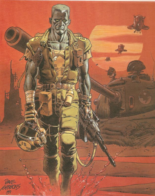 Rogue Trooper - Dave Gibbons