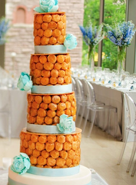 Croquembouche Cake
