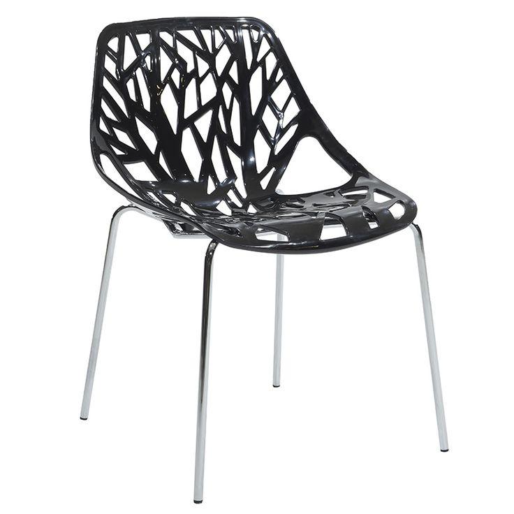 Propylene chair Mare black