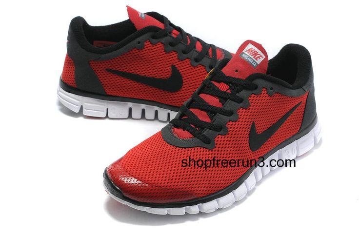 Mens Nike Free Run 3.0V2 Red Black#cheap #nikes #man #running #shoes #nike #free 2011      #cheap #nike #free
