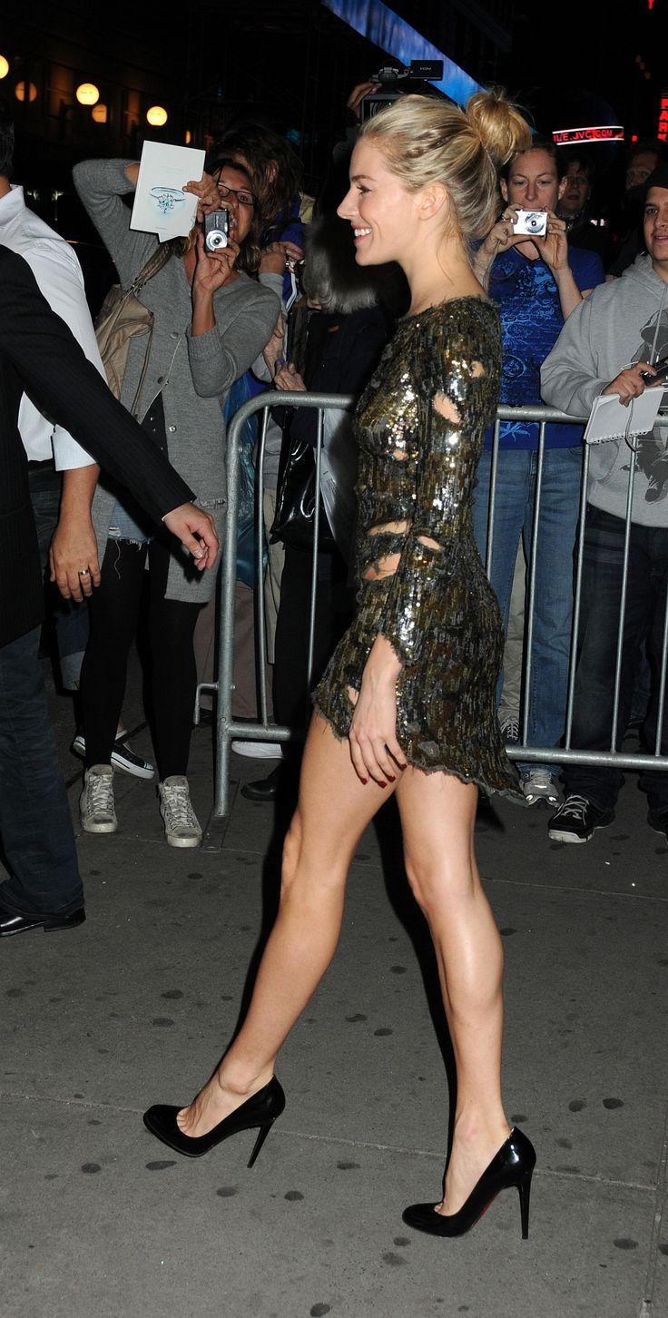 Sienna Miller Heels October 2017