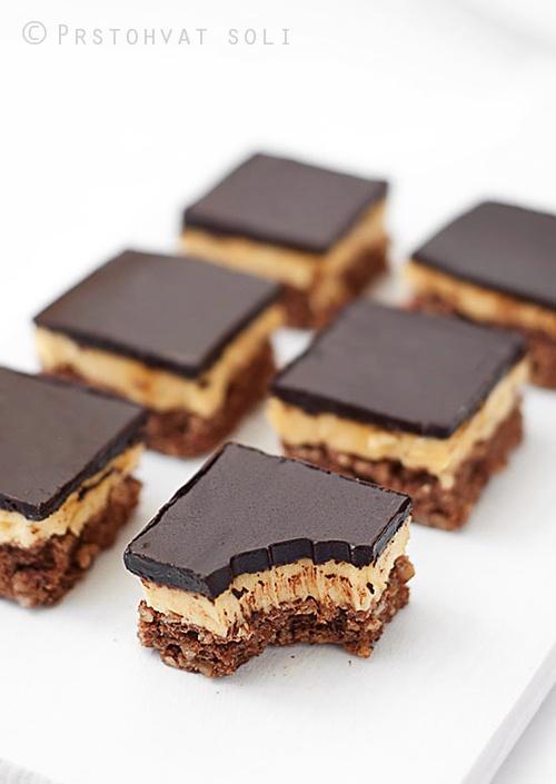 dark chocolate hazelnut buttercream bars