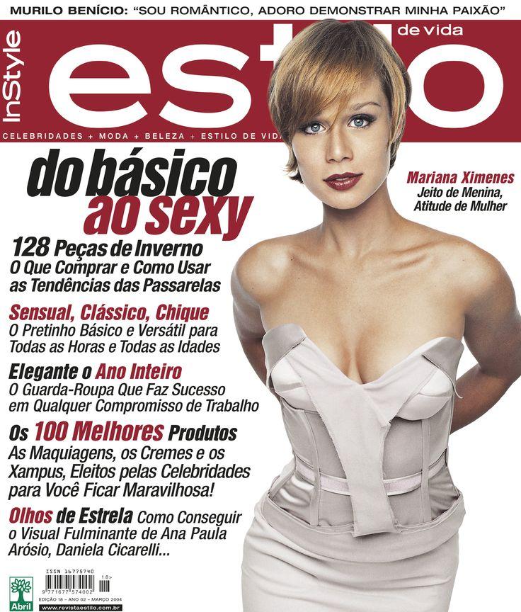 Edição 18 - Março de 2004 - Mariana Ximenes
