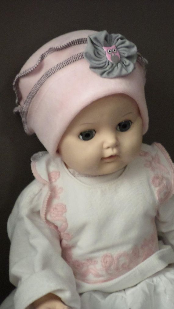 bonnet béret chapeau bébé fille cadeau naissance lin eva kids velours rose  et gris ec92dbfd6f5