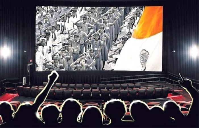 Are Cinema Halls Ideal For Playing #NationalAnthem?