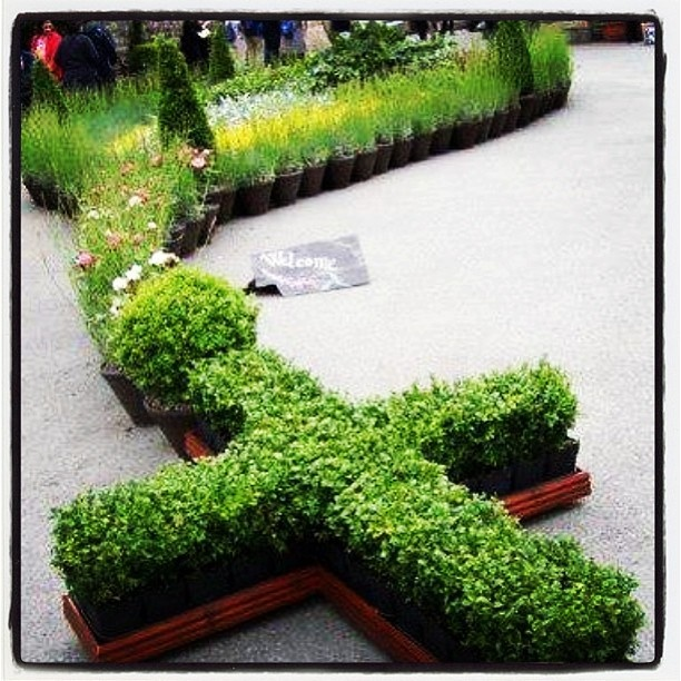 17 best images about mary and saint garden on pinterest for Rosary garden designs