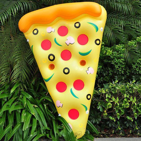 Water speelgoed reuze gele opblaasbare Pizza Slice door Airzeta