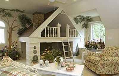 The dragons fairy tail dream kid rooms baby room for Garden themed bedroom ideas