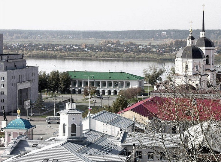 Downtown, Tomsk