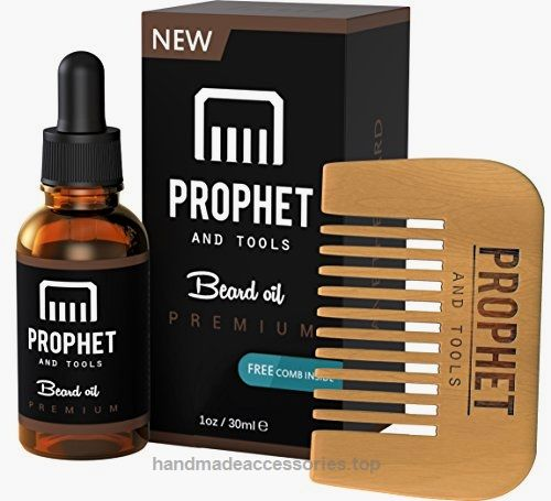 Prophet and Tools Beard Oil and Beard Comb Kit! FREE Beard Care Ebook Included – Unscented Leave-in Conditioner, Softener, and Beard Growth – 0% Alcohol, Vegan and Nuts-Free – All Organic Vitamin E  Check It Out Now     $18.99      Original Prophet and Tools – Premium Edition Beard oil     The beard fuel for your beard.   The beard is back in ..  http://www.handmadeaccessories.top/2017/03/15/prophet-and-tools-beard-oil-and-beard-comb-kit-free-beard-care-ebook-included-unscent..