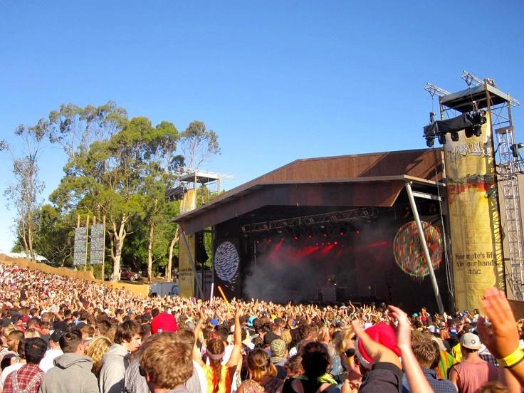 SBTRKT @ Falls Festival, Lorne Victoria