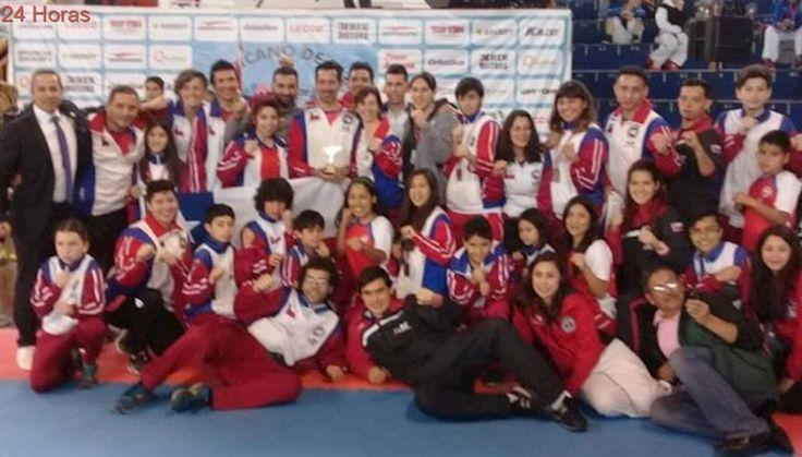 Chile se coronó subcampeón en el Sudamericano de Taekwondo ITF Lima 2017